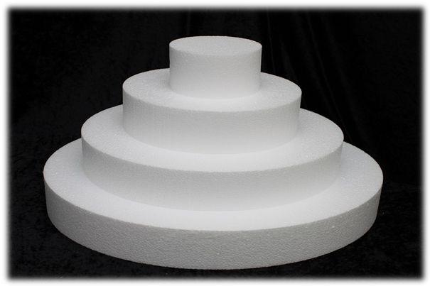 Set rechthoekige taartdummies