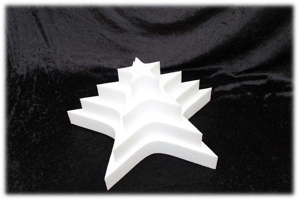 Stern Tortendummies von 5 cm hoch