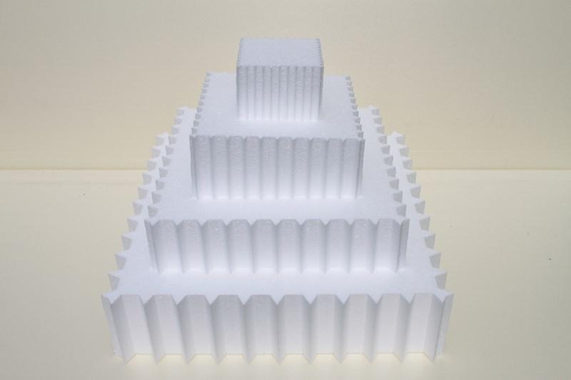 Viereckig Spitz- 4-teilige Set