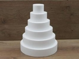 Round cake dummy Set of 7 cm high