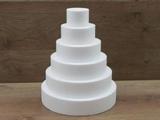 Round cake dummy Set of 7 cm high