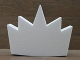 Crown cake dummy of 10 cm high