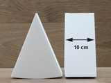 Cake Wedge dummies with straight edges of 10 cm high
