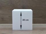 Vierkante taartdummies van 20 cm hoog