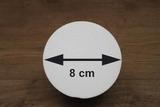 Styrofoam Ball half Ø 8 cm