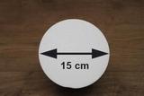 Styrofoam Ball half Ø 15 cm