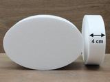 Ovale Tortendummies von 4 cm hoch