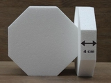 Octagon 4 cm high