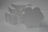 Flowe 6 petal cake dummy set