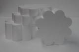 Flowe 8 petal cake dummy set