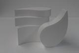 Comma - Paisley cake dummy set with straight edges