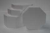 Octagon cake dummy set