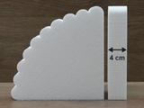 Waaier taartdummies van 4 cm hoog