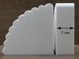 Fächer Tortendummies von 7 cm hoch