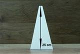 Piramide 12 x 12 cm - 25 cm hoog