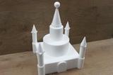 Castle cake dummy set 24 pcs - 35 x 35 cm, 38 cm high