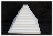 Oblong Sheet 4 cm thick polystyrene