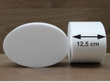 Oval Cake dummies with straight edges of 12,5 cm high