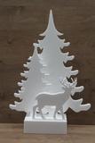 Kerstbomen met hert incl. voet