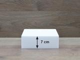 Vierkante taartdummies van 7 cm hoog