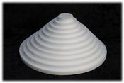 Round Sheet 1 cm thick polystyrene