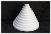 Round Sheet 2 cm thick polystyrene