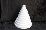 Round Sheet 3 cm thick polystyrene
