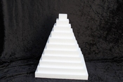 Square Sheet 3 cm thick polystyrene