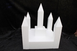 Castle cake dummy set 12 pcs - 30 x 30 cm, 35 cm high