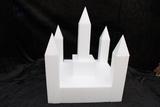Castle cake dummy set 12 pcs - 30 x 30 cm, 35 cm high