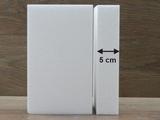 Rechthoek taartdummies met afgeronde hoek van 5 cm hoog