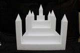 Castle cake dummy set 23 pcs - 50 x 50 cm, 49 cm high