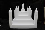 Castle cake dummy set 23 pcs - 50 x 50 cm, 49 cm high
