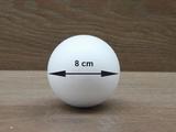 Styrofoam Ball Ø 8 cm