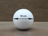 Styrofoam Ball Ø 10 cm