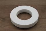 Styropor Ring mit flache Seiten
