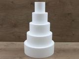 Round cake dummy set of 10 cm high
