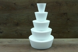 Fountain Cake dummy set of 5 pcs