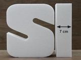 Buchstabe Tortendummies von 7 cm hoch