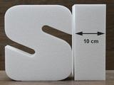 Letter taartdummies van 10 cm hoog