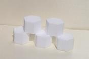 Mini taartdummies Hexagon