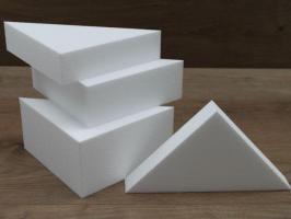 Triangle cake dummies