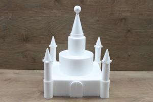 Castle cake dummies