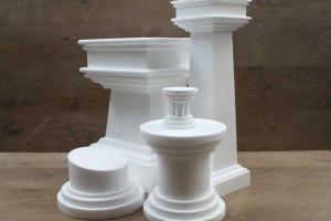 Columns & Pedestal