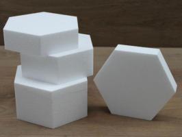 Hexagon cake dummies